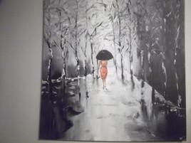 ballade sous la pluie
