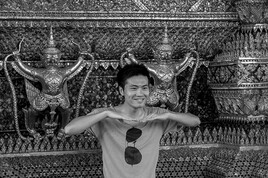 Portraits d'Asie 8 (Bangkok - Thaïlande) tirage dibond® 40 x 60 cm