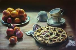 Nature morte aux prunes