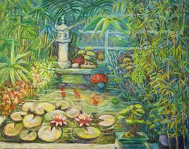 Bassin de l'Atelier - Bambous Verts