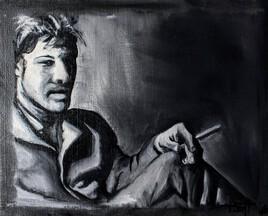 Autoportrait avec la clope