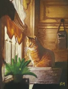 ONE LITTLE CAT