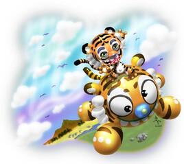 Ballon-Tigre