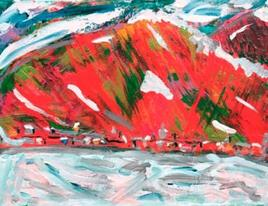 Mont-Saint-Hilaire, première neige d'automne