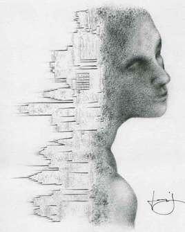 Désespérance urbaine, par PORTRAIT éMOI