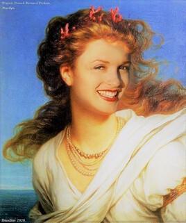 Miranda de Thomas Dicksee revisitée par Marilyn ..