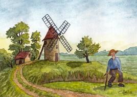 L'homme et le moulin