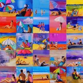 Scènes de plage.