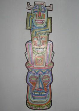 Totem Dieu du Luau