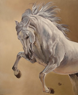 Peinture Cheval espagnol