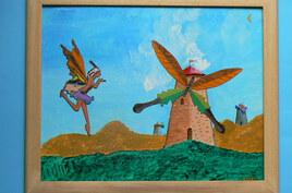 Moulin aux ailes de papillon