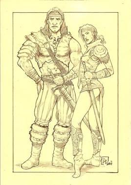 couple barbare