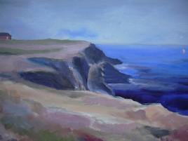 Les falaises de Belle Ile