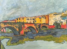 Limoux le pont sur l'Aude