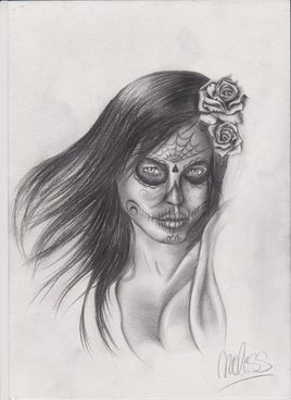 Angelina Jolie version Catrina
