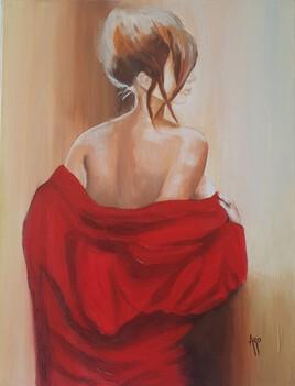 Le déshabillé rouge