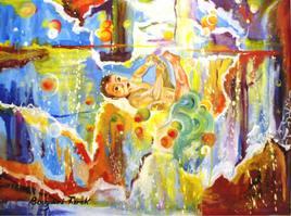 Peinture l eau de vie