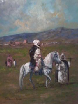orientalist peintures