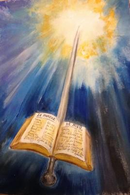 L'épée de l'Esprit, qui est la parole de Dieu.
