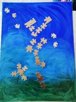 puzzle de fleur