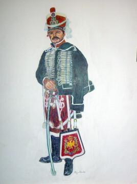 Garde d' honneur 1er EMPIRE