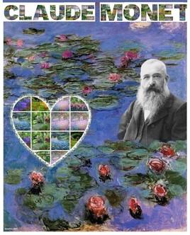 Claude Monet .. l'impressionniste..