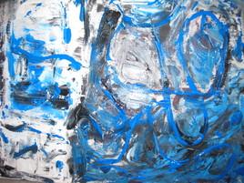 un blue de folie