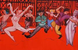 Les danseurs fous (droite )