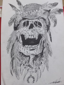 Tatouage - Tête de mort