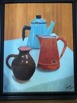 Deux cafetières