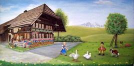 Berner Bauernhaus - Poya Suisse