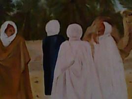 Réunion au masculin dans le sud tunisien