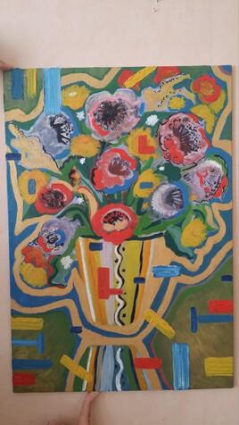 le vase année 60.