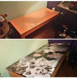 A la base je voulais juste nettoyer la table...