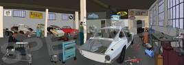 86- Interieure Garage 1600GT