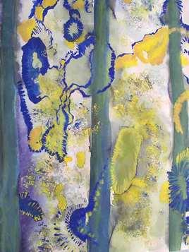 Bleu, vert et jaune, 2000.