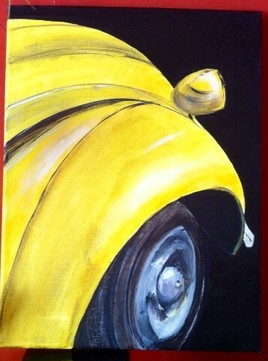 deuche jaune