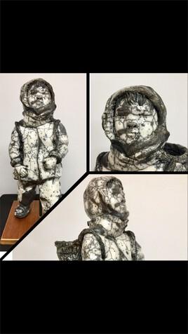 Enfant du monde raku