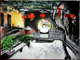 Temple à Shanghaï