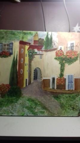 Ballade dans village