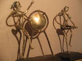 Sculpture Musiciennes