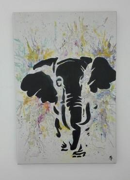 Happy éléphant