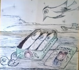 Chagall a l huile au bic