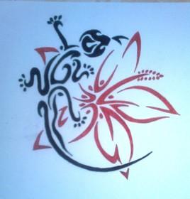 Dessin Tatouage Maori.