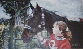 La fille au cheval