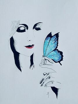 Fascination pour les papillons