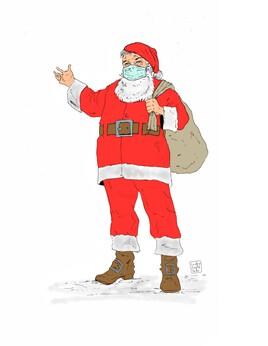 Le Père Noël en 2020