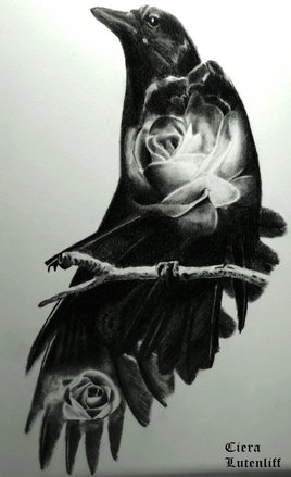 Romantic crow