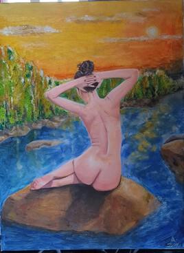 Femme / nature