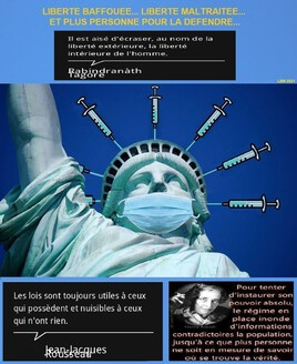 vaccination .. liberté bafouée.. liberté maltraitée.. et plus personne pour la défendre..